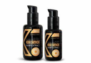 Elixinol CBD Oil Lipsomes Bottles