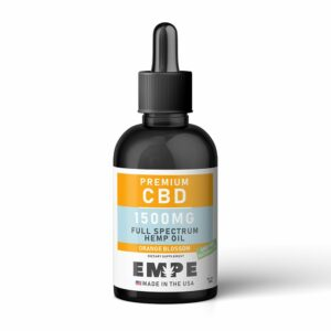 EMPE CBD Full Spectrum Hemp Oil Tincture Product