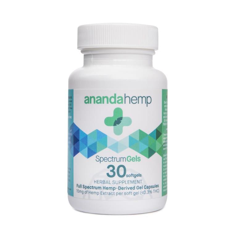 Ananda Full Spectrum CBD Gels 30 Count