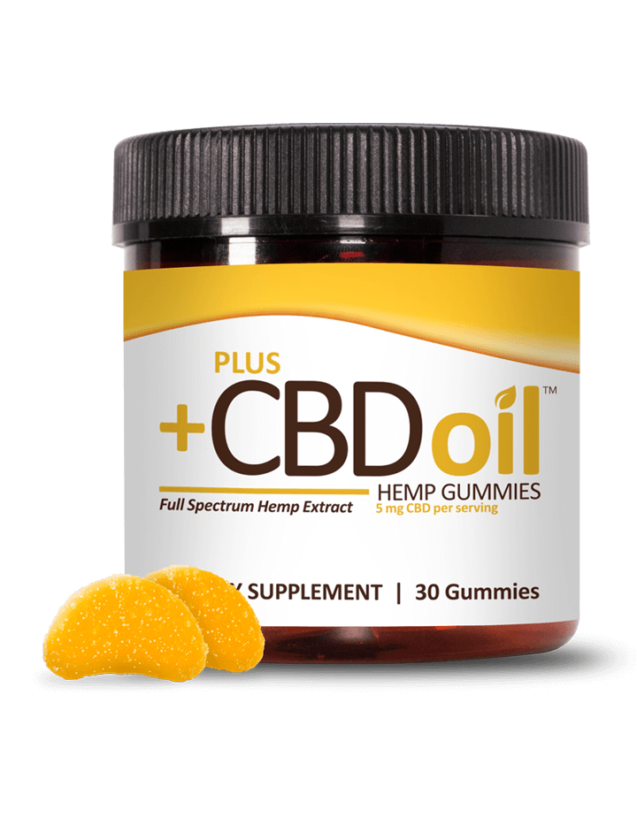 About CBD Oil Gummies by PlusCBD Oil™ Product