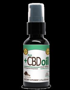 PlusCBD CBD Extra Virgin Olive Oil Spray Bottle