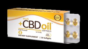 CBD OIL SOFTGELS GOLD FORMULA – PLUSCBD™ OIL Product