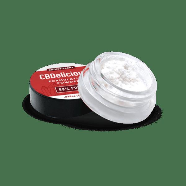 CBDistillery 99+% Pure CBDelicious Formulation Powder Jar