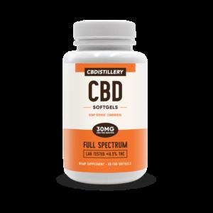 Full Spectrum CBD Softgels – 30mg – 60 Count Product