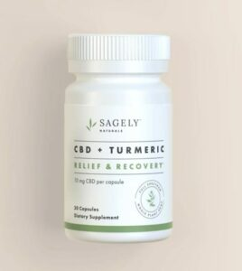 RELIEF & RECOVERY CAPSULES Product