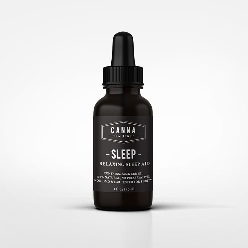 CBD Sleep Aid tincture Product