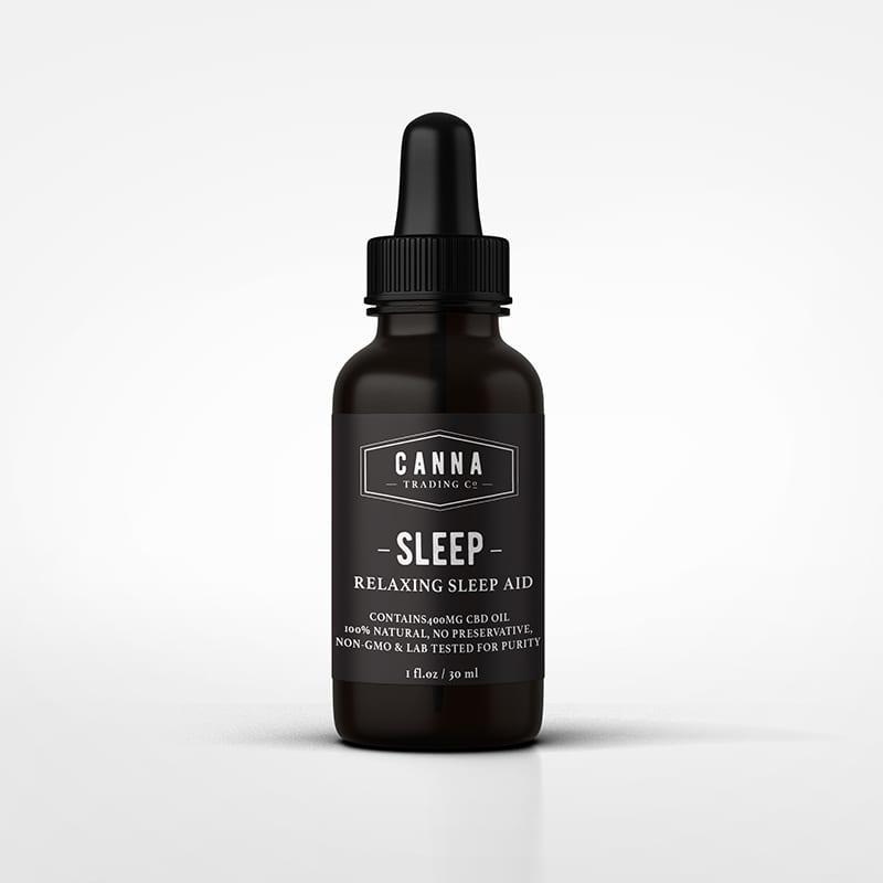 CBD Sleep Aid tincture Product