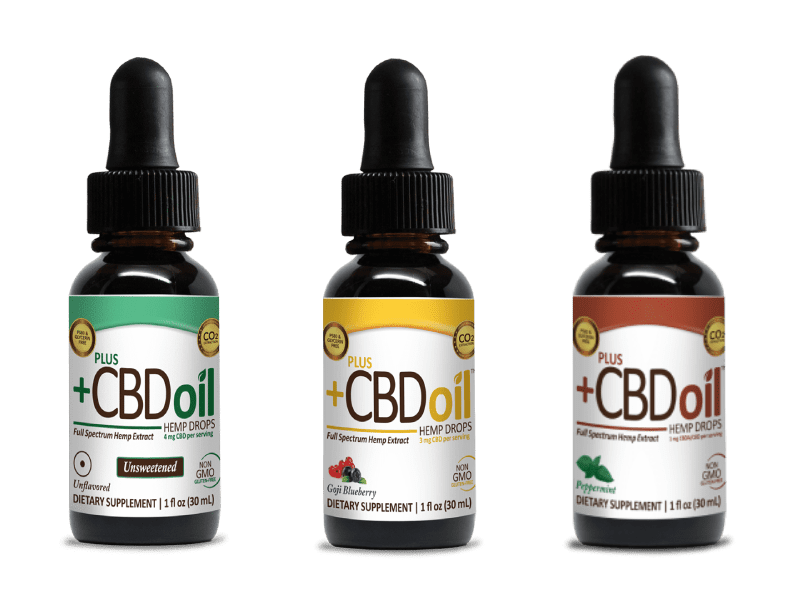 CBD Drops by North American Market Leader Plus CBD Oil™ Products