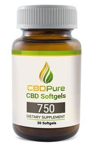 CBDPure Softgels 750 Product
