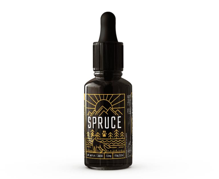 Spruce Dog CBD Oil 750mg Bottle