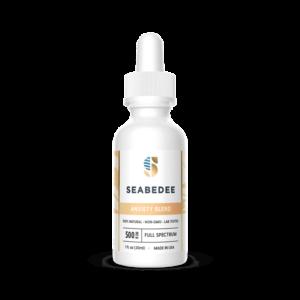 Seabedee CBD Anxiety Blend Bottle