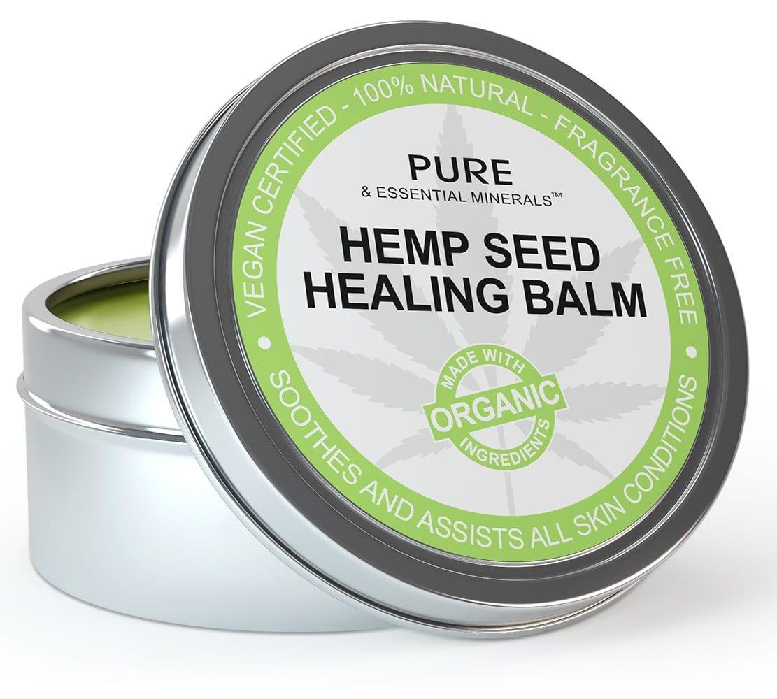 Pure & Essential Minerals Hemp Seed Healing Balm Bottle