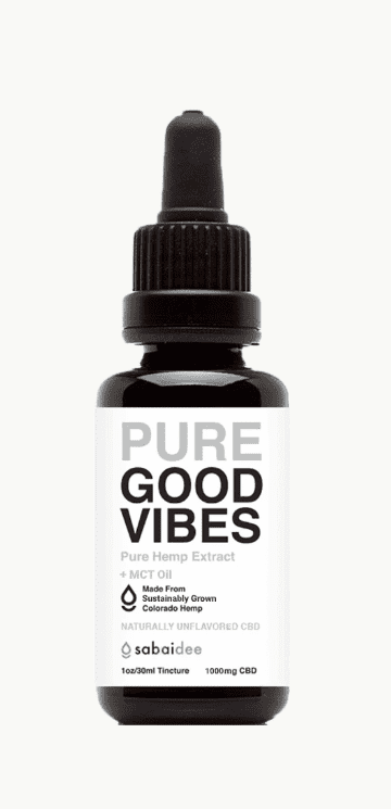 Sabaidee Pure Good Vibes CBD Oil