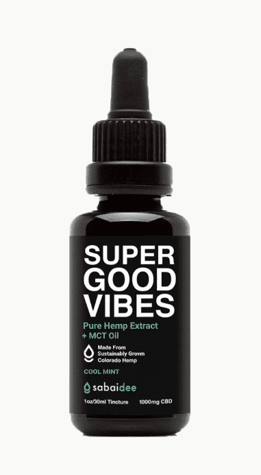 Sabaidee Super Good Vibes CBD Oil