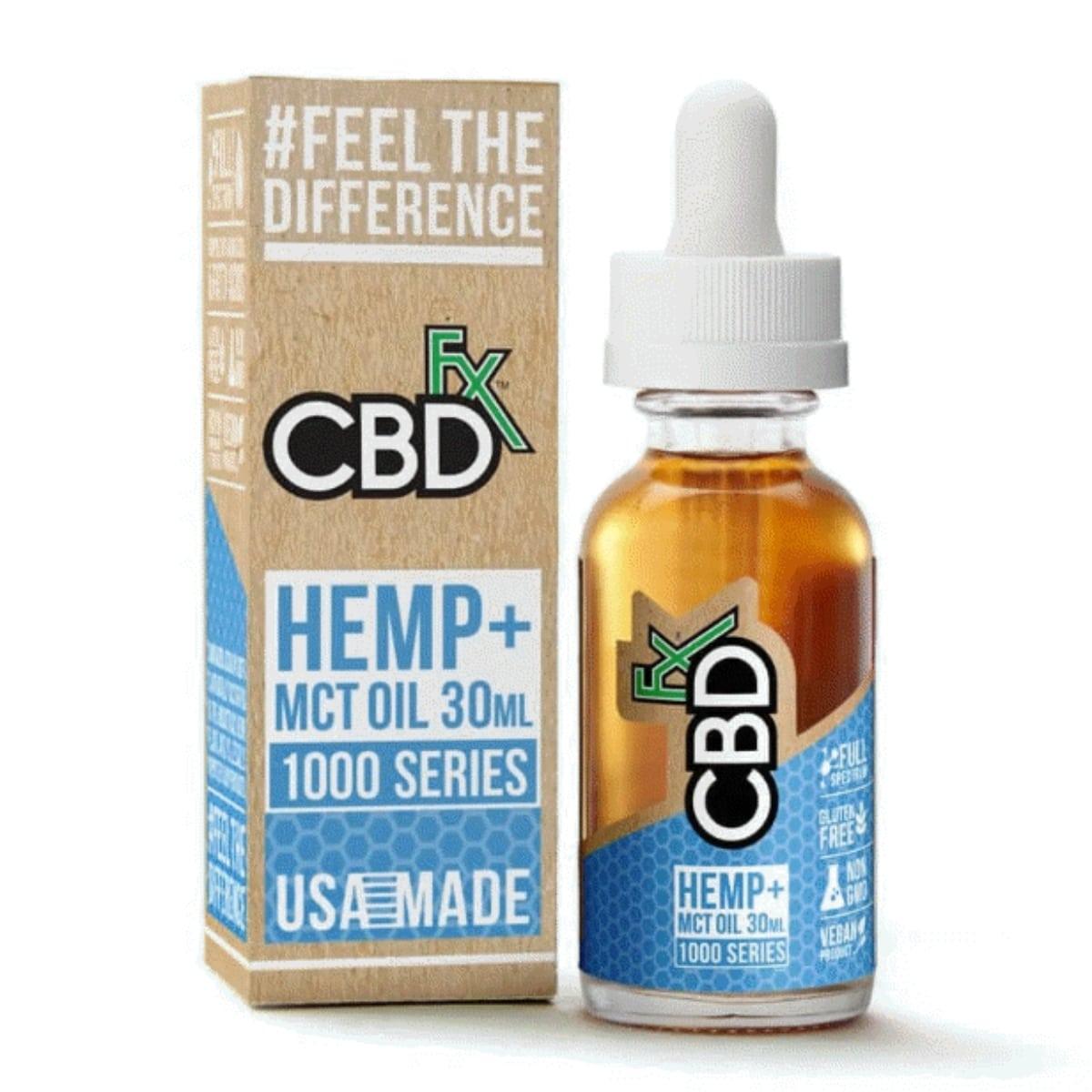 CBDfx CBD Tincture Oil