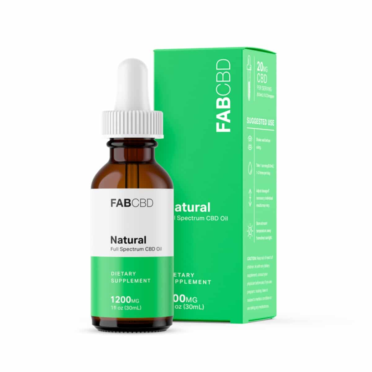 Fab CBD Full Spectrum CBD Oil