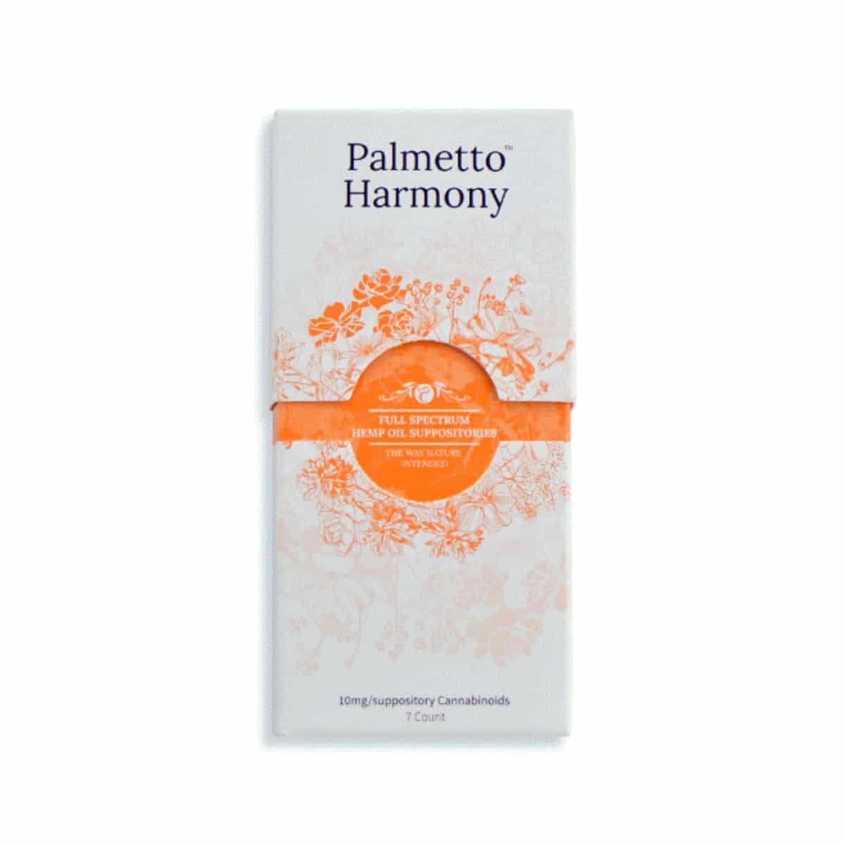 Palmetto Harmony Spectrum Suppositories
