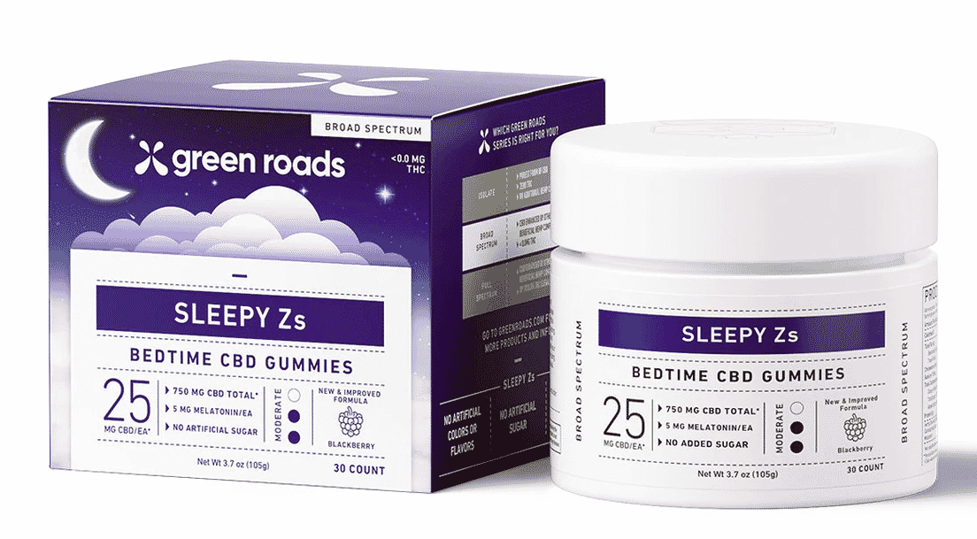 Green Roads Sleepy Zs CBD Gummies 30CT